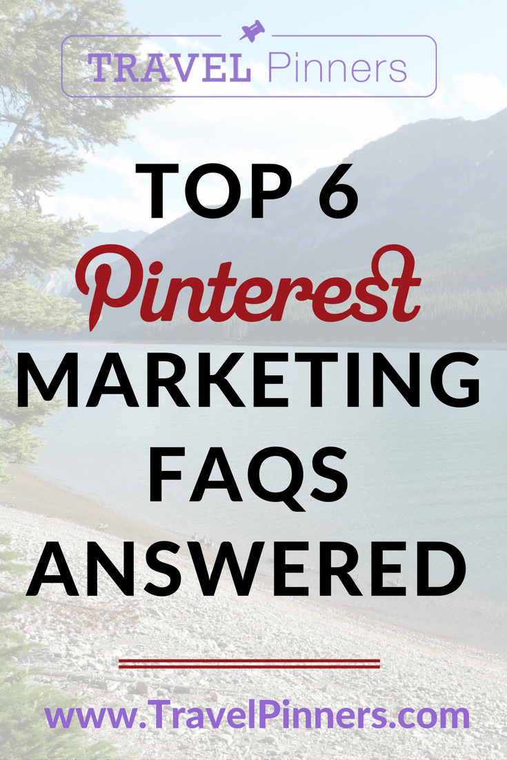 Discover the answers to all of the most common questions about Pinterest marketing. With these FAQs, you'll learn the best practices for pinning and scheduling content and increase your travel brand's engagement on Pinterest. Read the Pin Coach blog to learn more. | Pinterest Top FAQs